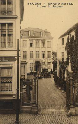 Grand Hotel, Bruges (Belgique).