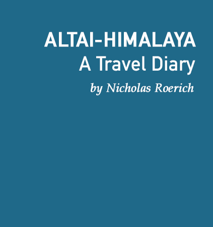 Altai Himalaya By Nicholas Roerich